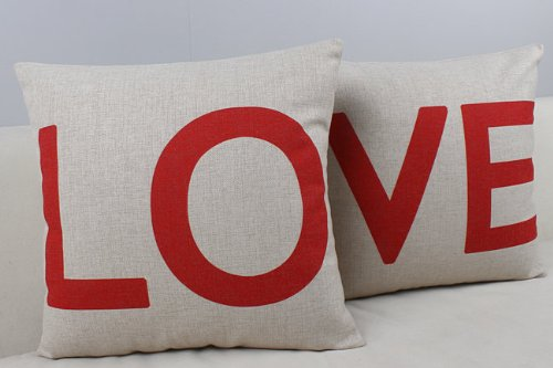 Love Pillow Covers