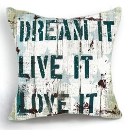 Dream It! Pillow Cover