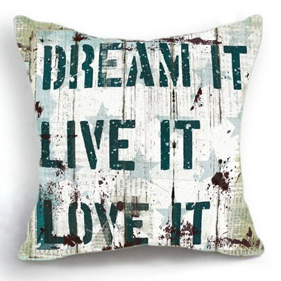 Dream It Pillow Cover