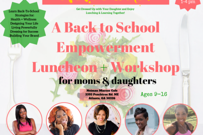 Activate Your Awesome Workshop + Luncheon for Moms & Daughters is Coming to Atlanta