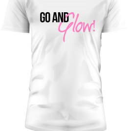 Go and Glow T-Shirt White