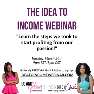 idea to income webinar