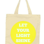 let your light shine tote