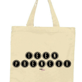 Teenpreneur Tote Bag