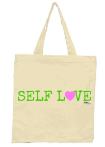 self love tote green