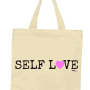 self love tote black