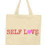 self love tote red
