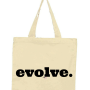 evolve tote black/natural
