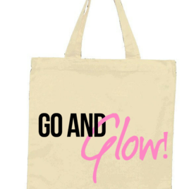 Go and Glow! Tote Bag