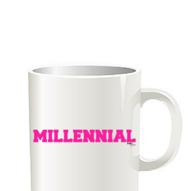 Millennial Coffee Cup