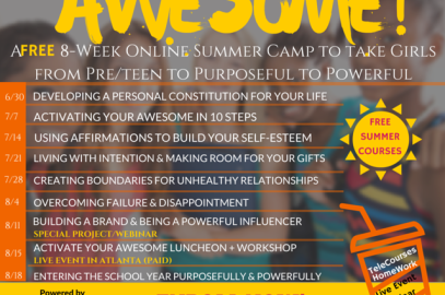 Activate Your Awesome Free Online Summer Camp for Girls Has Launched!