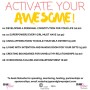 Activate Your Awesome CD Insert (1)